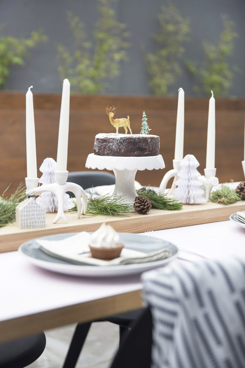 & Scandi Christmas Table Setting by All the Frills | Made From Scratch