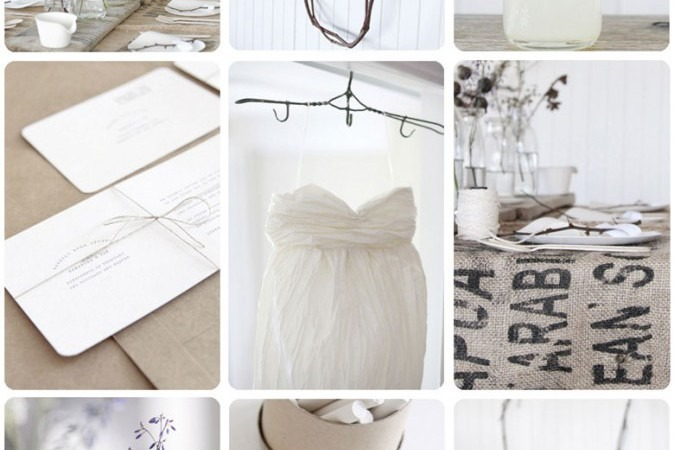 Simple & Natural Wedding
