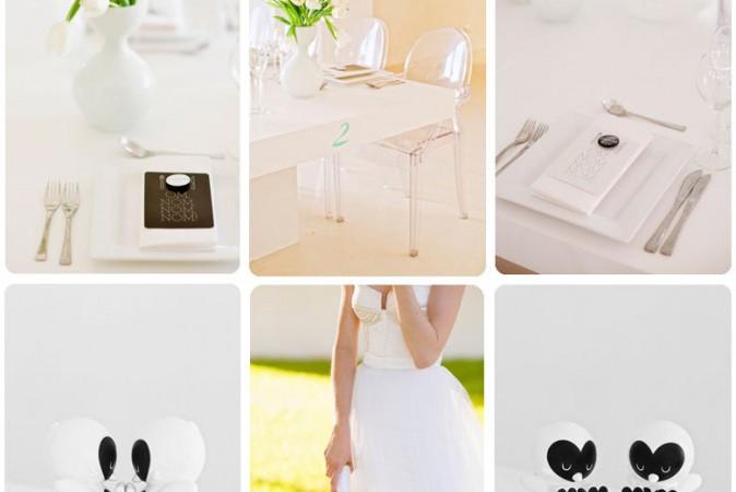 Stylish & Modern Wedding