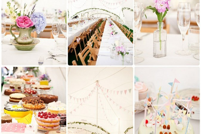 DIY Fete Wedding