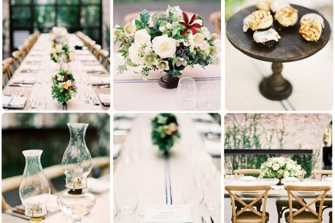 Floral Dinner Party