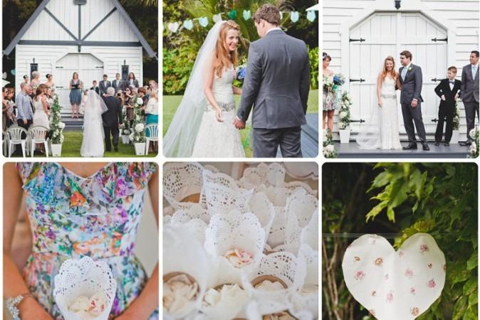 Amanda & Trav's Candy Floss Wedding