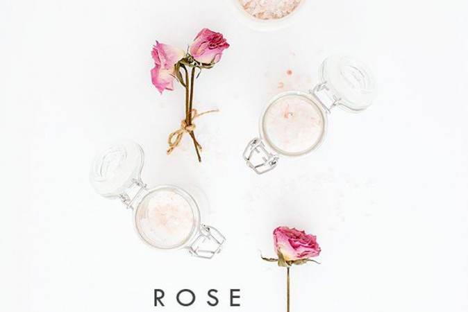 DIY | Rose Body Scrub by Oh So Pretty