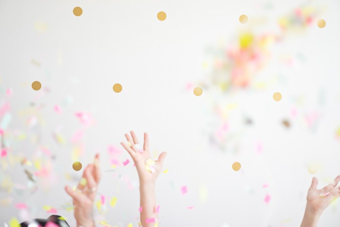 Confetti Shoot by Jel Photography
