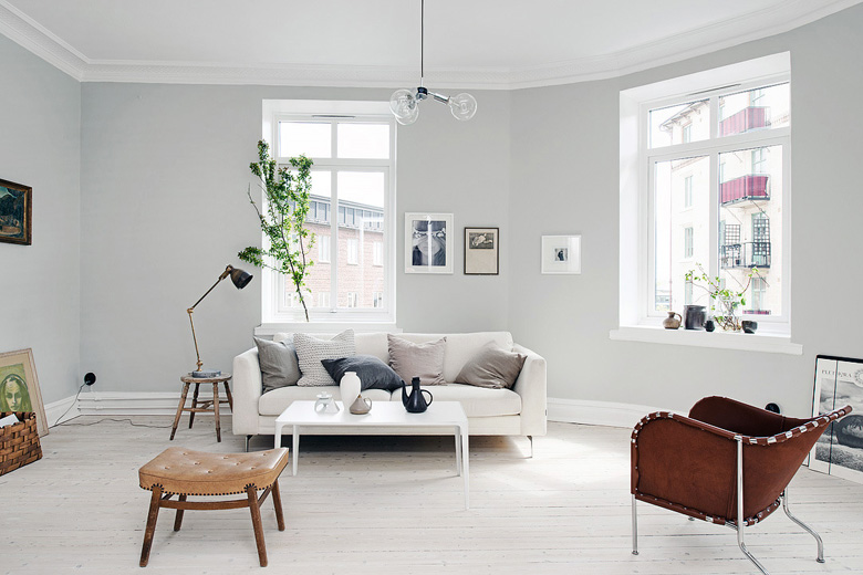 Light Grey Apartment Made From Scratch