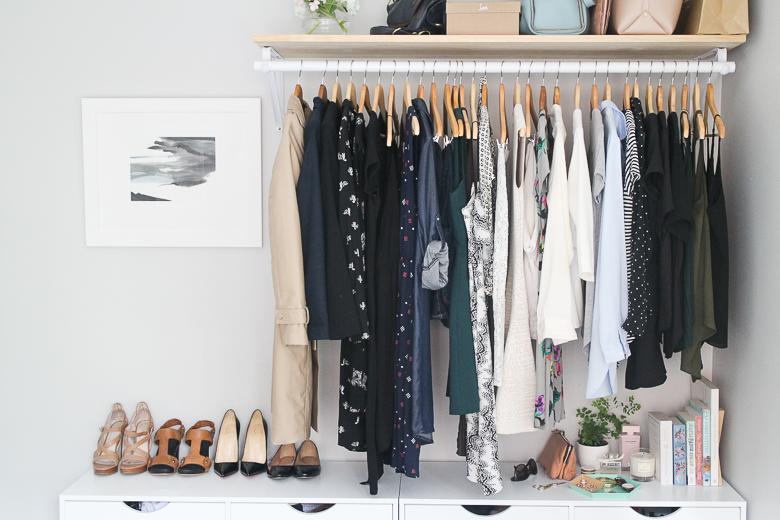 Penderie Diy : 5 Façons De Fabriquer Un Dressing Ouvert - Accrodeco