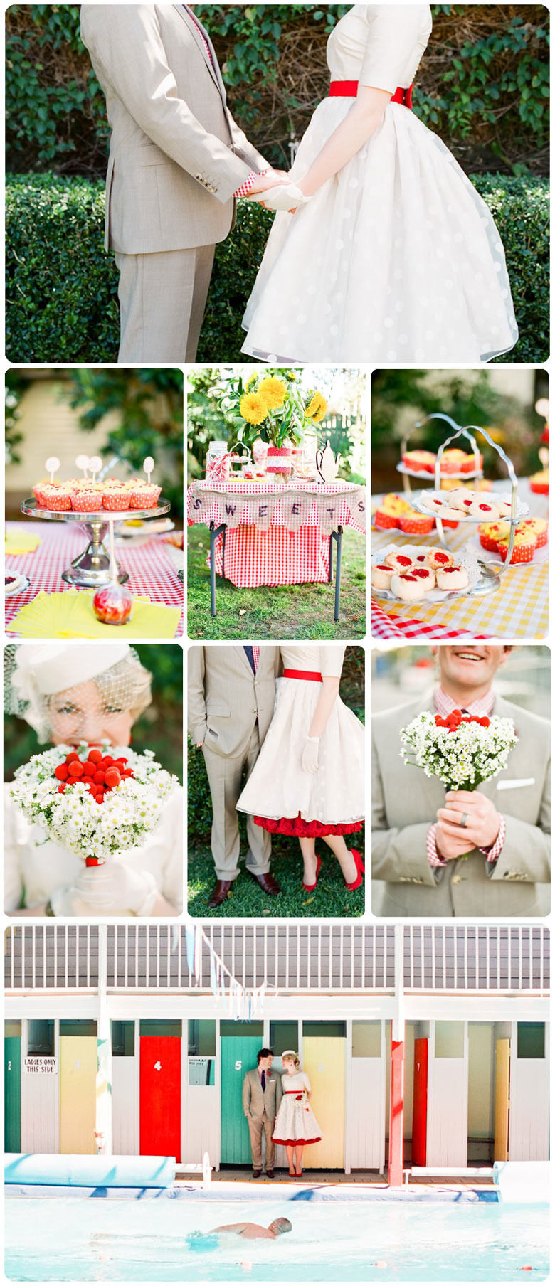 50s Themed Wedding Made From Scratch