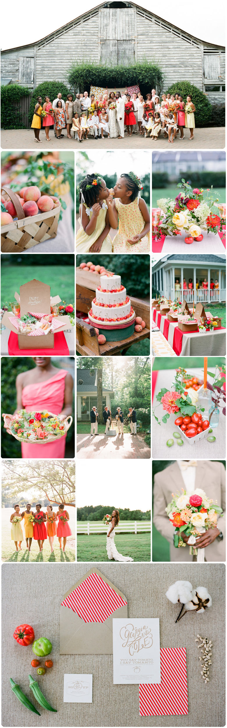 Sweet Southern Harvest Wedding