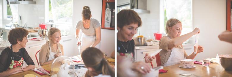Molly's Baking Class