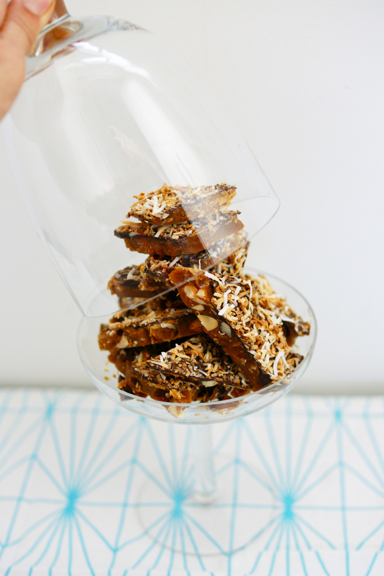 Almond Roca Bark by Mia Loves Pretty