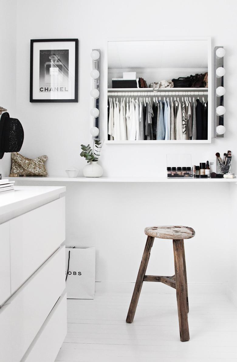 Walk in closet stylizimo