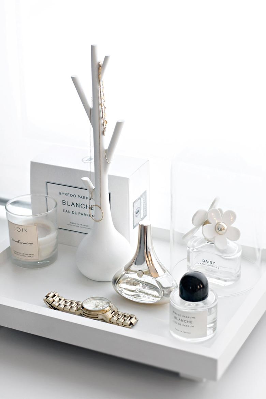 Parfume tray