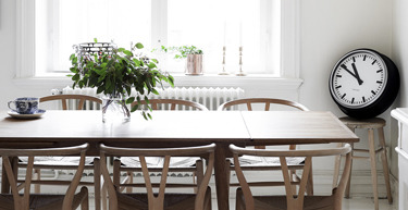Grey, Neutral and Blush Scandinavian Apartment