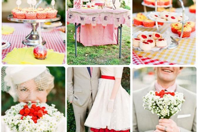 50's Themed Wedding
