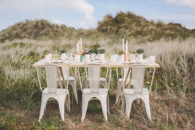 Geometric Styled Shoot by Two Foxes