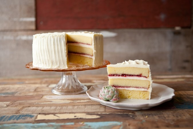 How To Make Cake With Buttercream Raspberry Jam Ingredients